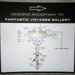 Mapa do museu de sci-fi. O lugar era grande!